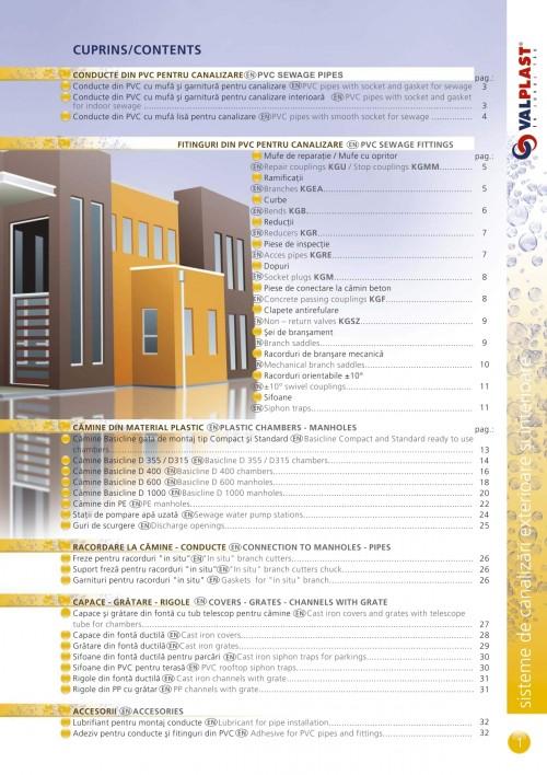 catalog valplast basicline