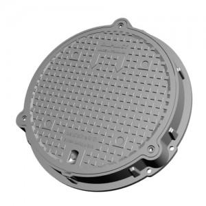 capac compozit smc - d400 ventilat, pas liber 600 mm